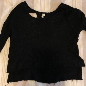 Open back Free People sweater (S)
